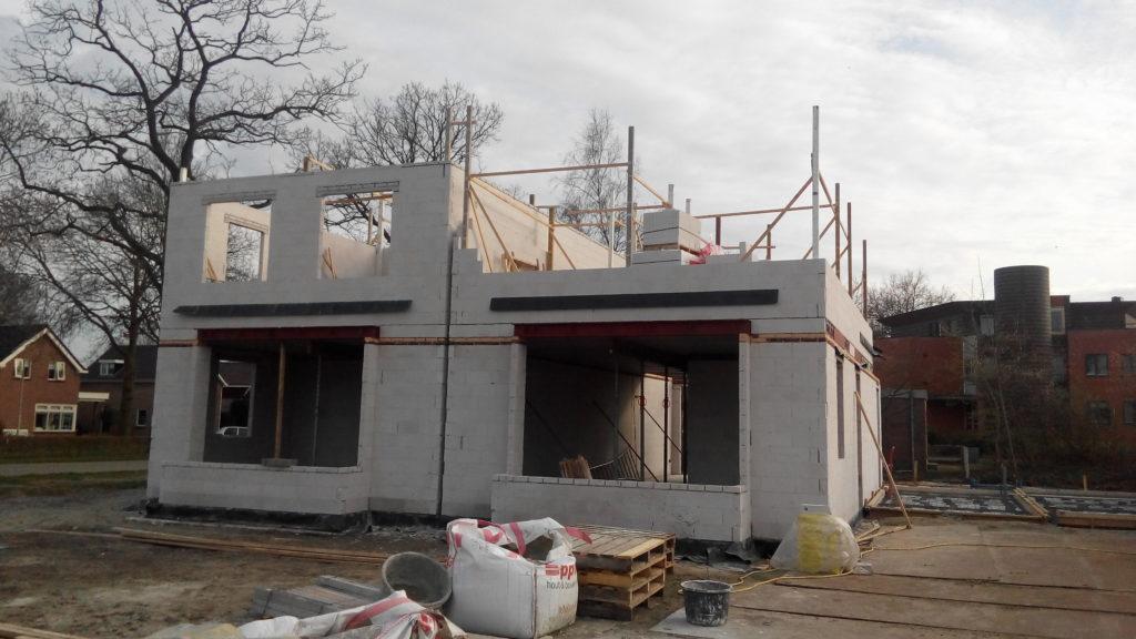 aanzicht nieuwbouw woning Hege kamp